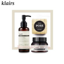 KLAIRS Gentle Black Set 3items [For Pore clean],KLAIRS